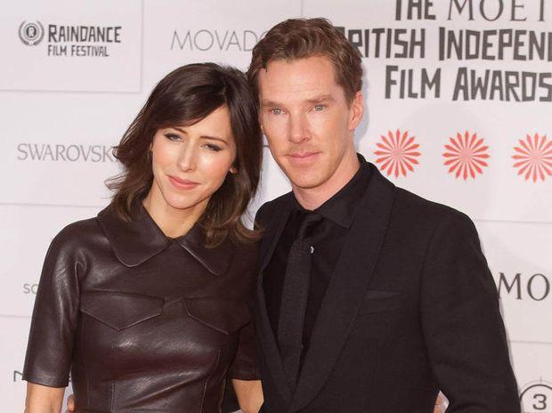 Benedict Cumberbatch and Sophie Hunter at the British Independent Film Awards