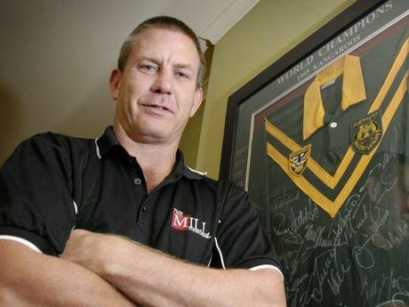 Former Australian rugby league player Jason Smith.