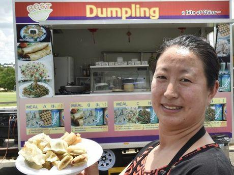 Best Dumpling food van owner Lihong Liang.