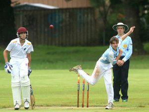 Juniors in a spin at cricket carnival