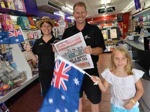 Fire up prize barbie for the Australia Day competition