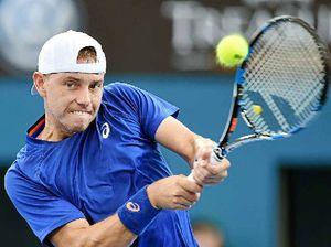 Home stars shine on court in Brisbane