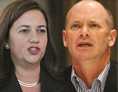 Labor's Annastacia Palaszczuk vs LNP's Campbell Newman