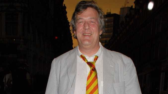 UK comedian Stephen Fry