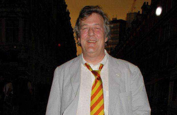 UK comedian Stephen Fry