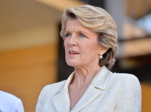 Julie Bishop backs Israel against Obama stance