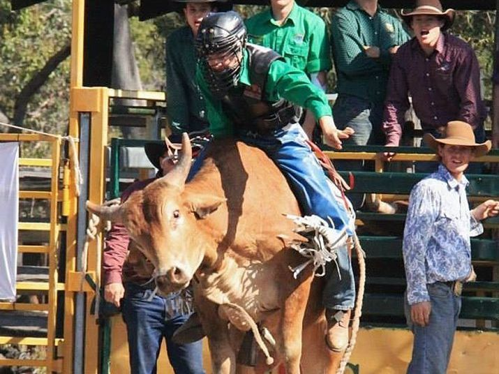 AWARD NOMINEE: Rodeo star Ky Hamilton, 14, has been nominated in the Young Sports Award category for Mackay Regional Council's 2015 Australia Day Awards.