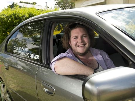 Kyle Wilkie is offering free lifts to the clubs with his ClubHopper service.