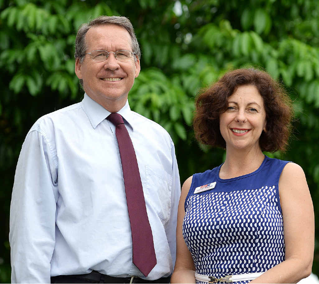 CAMPAIGN TRAIL: Labor candidates for Ipswich West and Ipswich Jim Madden and Jennifer Howard.