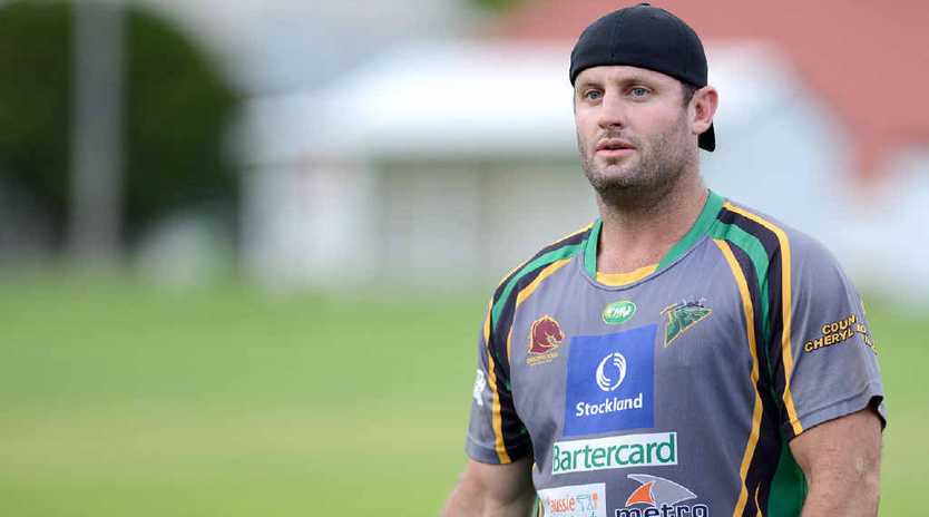 WALKER COMEBACK: Former Broncos whiz Chris Walker is training strongly for the Ipswich Jets ahead of the Intrust Super Cup season.