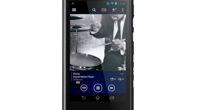 The 128 GB Walkman Hi-Res Digital Music Player.
