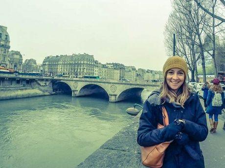 Toowoomba's Lisa Kajewski in Paris.