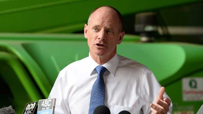 Campbell Newman... setting the record straight on asset sales.