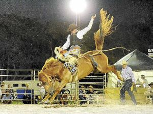 Rodeo then a party in Byron Bay