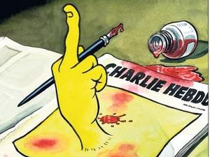 Front pages, cartoons honour Charlie Hebdo victims