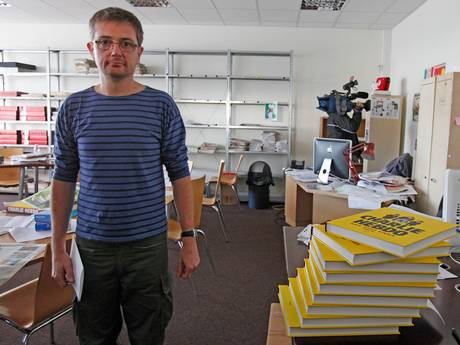 Stephane Charbonnier or Charb, the editor of Charlie Hebdo