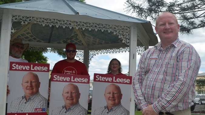 Labor's Steve Leese has a big job head to win the seat of Lockyer.