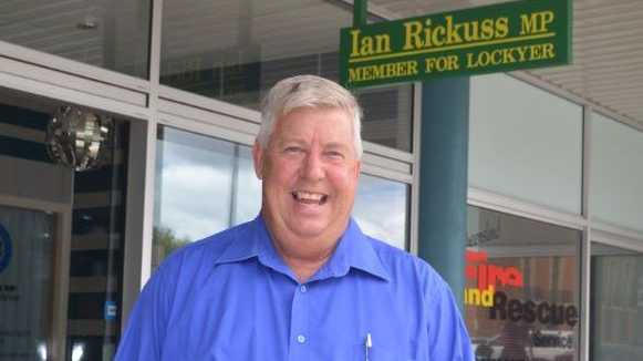 Ian Rickuss will have to keep the election victory champagne on ice until a full recount completes in a