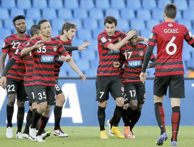 COFFS MEDICINE: A refreshing break on the picturesque Coffs Coast could be all it takes for the Western Sydney Wanderers to get their famous winning mojo back. Photo: AAP/Christophe Ena
