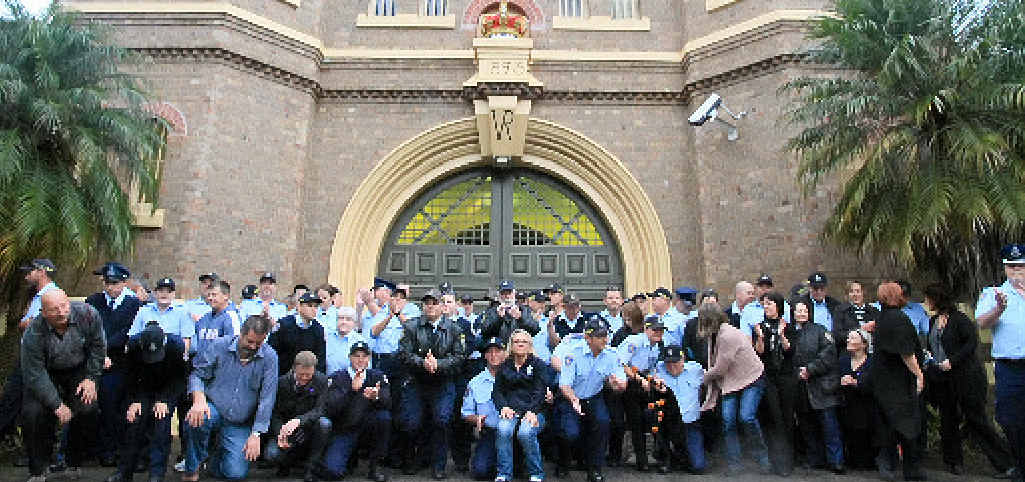 FLASHBACK: This was at day six of the Grafton Jail community picket line in 2012.
