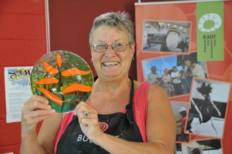 A workshop exploring the art of glass fusion will be held at Gladstone Regional Art Gallery Museum on Saturday.