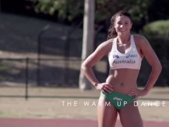 Now we have a new reason for Michelle Jenneke to be Australia's favourite hurdler.