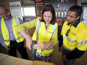 Labor to save port, Calliope high school land