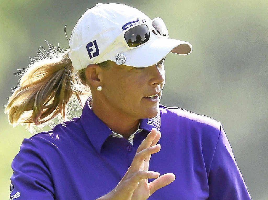 KEEN: Talented Sunshine Coast golfer Katherine Kirk.