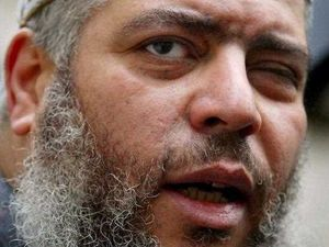Cleric Abu Hamza jailed for life, Hebdo links reported