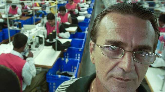 LOOKING BACK: Businessman Dusan Jacenko is seen in this photograph in his textile factory in Sri Lanka in 2005.