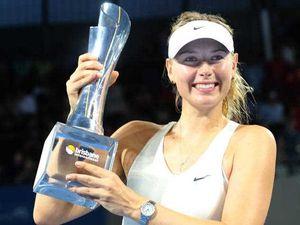 Sharapova beats Ana Ivanovic at the Brisbane International