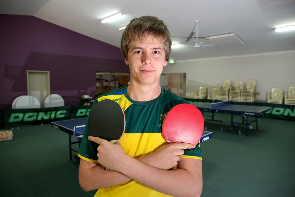 Kane Townsend - the silver lining on Australia's Table Tennis World Cup loss