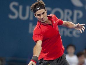 Aussie Mitchell eyeing match up with Roger Federer