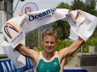 Hervey Bay's Matthew Hauser takes out the 2015 OTU Oceania Junior Triathlon Championships in Penrith.