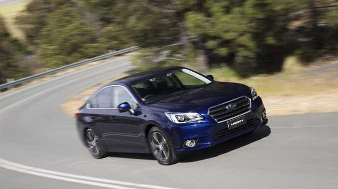 The 2015 Subaru Liberty.