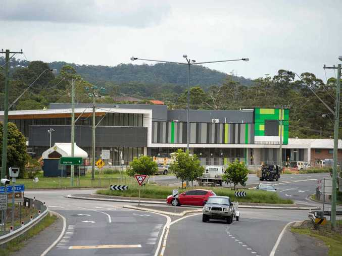 NOT TOO LONG NOW: Residents have to wait a little longer for Woolworths to open at Woolgoolga.