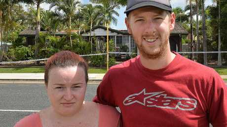 Aiden Eggins and Jacqueline Dunn, who feared their Tolcher St neighbours were still in the burning house, were relieved to discover they had not been at home.