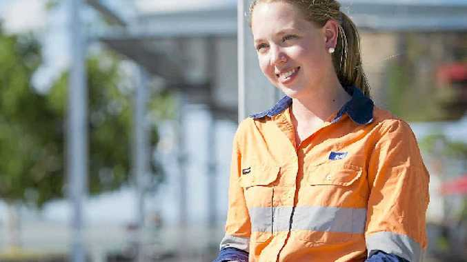 WORK EDGE: CQUniversity graduate Emily Weatherall says her CQU qualification has given her an edge over many others.