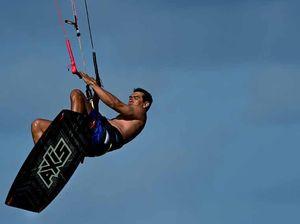 Kite surfing is taking off on Sunshine Coast