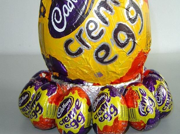 It's almost that time of year: time for Creme Eggs!