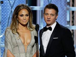 Jeremy Renner criticised for Jennifer Lopez's dress comment