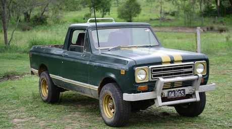 The truck belonging to missing Plainland's man Darrell Simon. Photo: David Nielsen / The Queensland Times