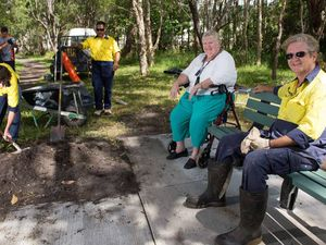 Seats are a hit with residents