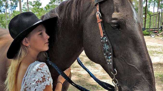 SPRINGING INTO ACTION: Victory College student Riley Spring is off to America to compete in the world titles for the junior under-18 barrel racing competition.