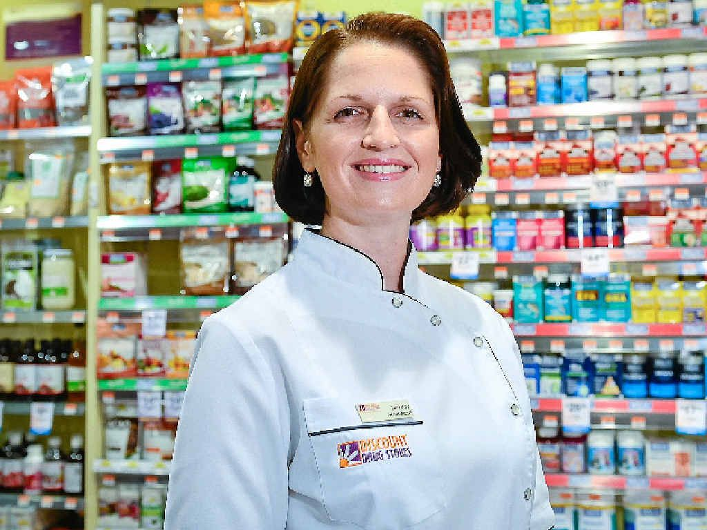 COVAD: Boyne Tannum Discount Drug Store pharmacist Nancy Griffin. The pharmacy can now help you select private health insurance.