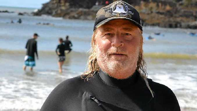 NICE LIFE: Wayne Mellick loves Agnes Water and the beach. He believes it is the best place in the world, saying he wakes up every day in his own paradise.