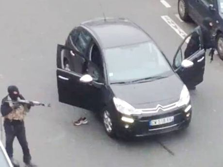 Paris was brought to a standstill as two gunmen opened fire in the offices of Charlie Hebdo magazine