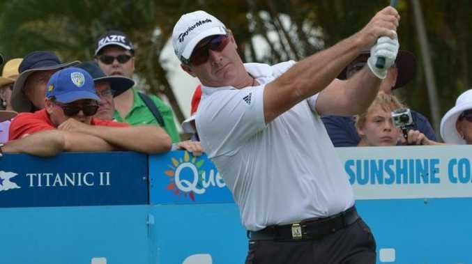 Peter Lonard will be hitting off in next month's Queensland PGA Championship at City Golf Club.