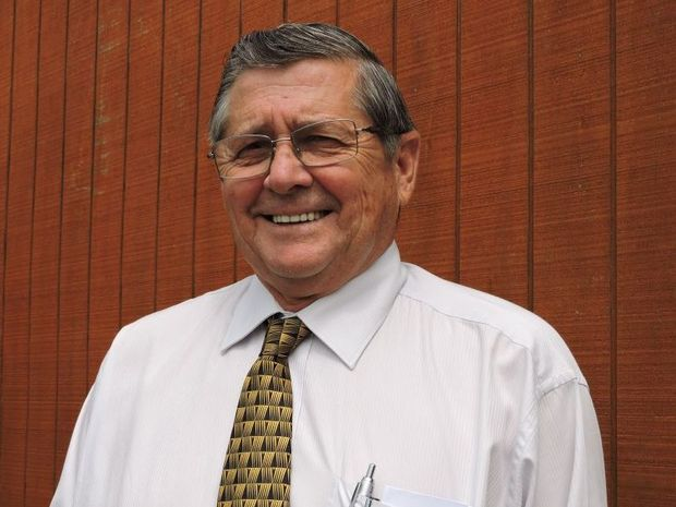 Member for Hervey Bay Ted Sorensen.