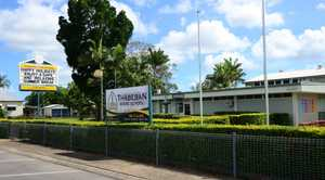 EXPLOSIVE DEVICE: Police were alerted to the location of an explosive device found near Thabeban State School. Photo taken Wednesday, 14 January 2015. Photo: Max Fleet / NewsMail